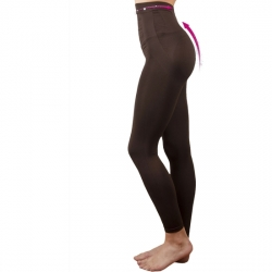 LEGGINS PUSH UP COSMÉTICO-TEXTIL EMANA 140 DEN COLOR MARRÓN