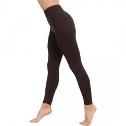LEGGINS PUSH UP COSMÉTICO-TEXTIL COLOR MARRÓN
