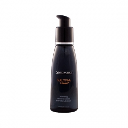 WICKED EFECTO CALOR LUBRICANTE CON BASE DE SILICONA 60 ML