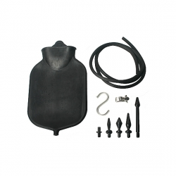 DELUGE - KIT ENEMA DELUXE NEGRO