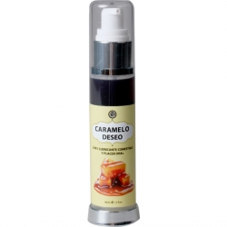 LUBRICANTE COMESTIBLE CARAMELO 50 ml.