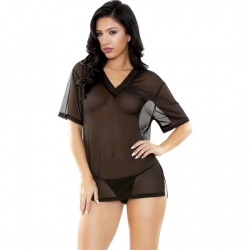 CONJUNTO BRANDY SLEEP CAMISETA Y TANGA