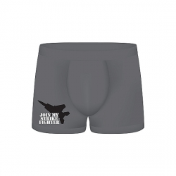 FUNNY BOXERS JOIN MY STRIKE FIGHTER GRIS