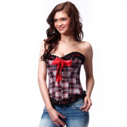 INTIMAX CORSET ESTILO ESCOCES