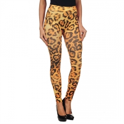 INTIMAX YELLOW LEOPARD LEGGINS