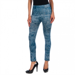 INTIMAX LEGGINS BOLSILLO BLUE