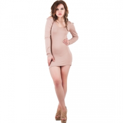 PURPURA CONCEPT VESTIDO BELLINI MARRON