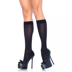 LEG AVENUE CALCETINES ALTOS NEGRO