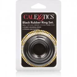 RUBBER RING KIT 3 3 ANILLOS NEGRO