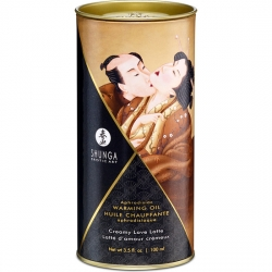 ACEITE EFECTO CALOR CREMA LOVE LATTE 100ML