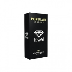 PRESERVATIVOS LEVEL POPULAR CONDOMS - 10UDS