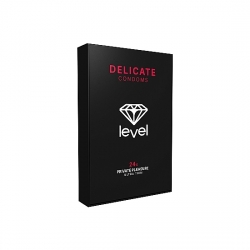PRESERVATIVOS LEVEL DELICATE CONDOMS - 24UDS