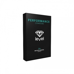 PRESERVATIVOS LEVEL PERFORMANCE CONDOMS - 24UDS