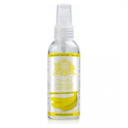 TOUCHE ICE LUBRICANTE COMESTIBLE BANANA 80 ML