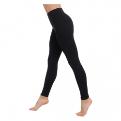LEGGINS PUSH UP COSMÉTICO-TEXTIL EMANA 140 DEN COLOR NEGRO