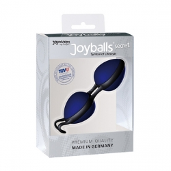 JOYBALLS SECRET BOLAS CHINAS NEGRAS Y AZUL