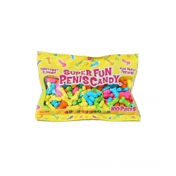 SUPER FUN PENIS CANDY 100 PC 88 GRAMOS