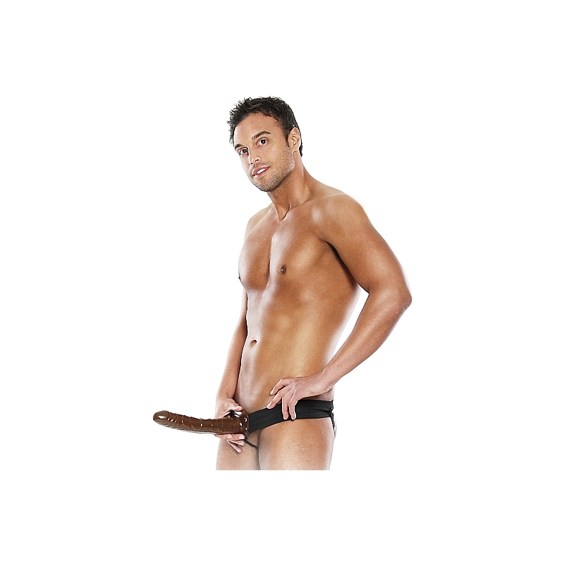 FETISH FANTASY ARNES HUECO AJUSTABLE CHOCOLATE 22 CM.