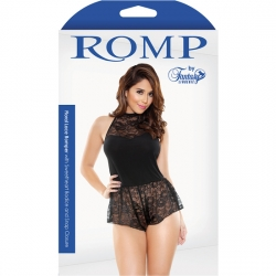 ROMP SNAP BODY NEGRO