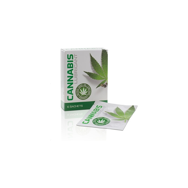 LUBRICANTE CANNABIS 4 ML 6 UDS.