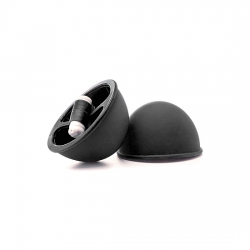BONDANGE TOYS VIBRATING SUCTION CUP NEGRO